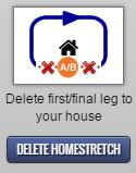 Delete Homestretch Feature